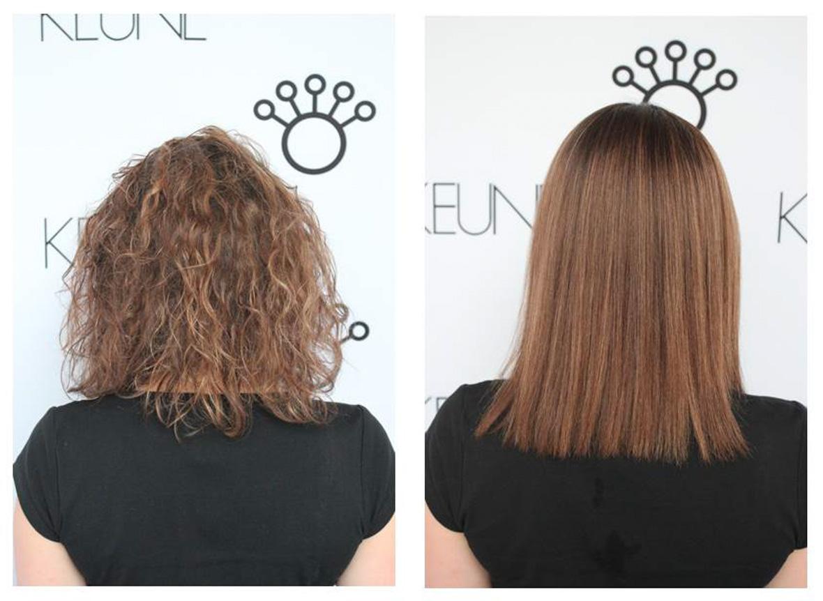 lisser durablement les cheveux bouclés ou frisés