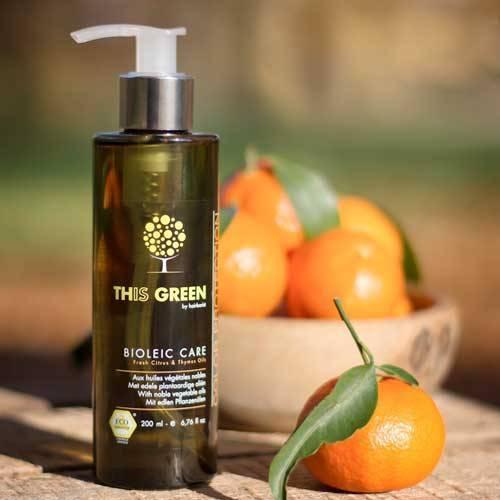 Soin du cheveu, Le soin précieux aux huiles végétales nobles, This Green