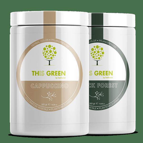 Coloration naturelle végétale This Green